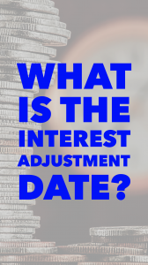 interest adjustment date