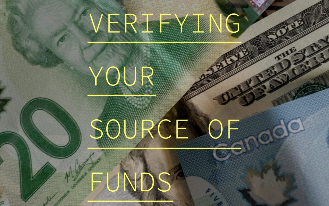 Verifying Your Source Of Funds