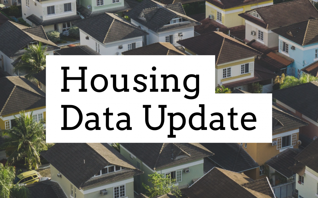November Housing Data Show Rebound Underway